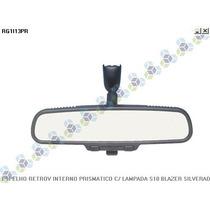 Espelho Retrovisor Interno Prismatico C/ Lampada Silverado