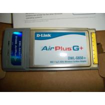 Placa De Rede Wireless Airplus G+ D-link Dwl-g650+