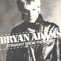 Bryan Adams Compacto Vinil Straight From The Heart 1983