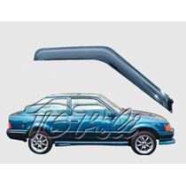 Ford Escort Hobby - Jogo Calha Chuva Defletor Tg Poli 21003