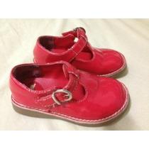 Lindo Sapato Vermelho Gymboree Nº 22 - 7 Eua