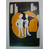 Painel Pintura Arte Pop C.t.losso Pinturas Quadros Pop Art