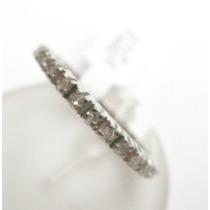 Feliz Jóias - Promoção Aliança Inteira De Diamantes 0,60 Ct