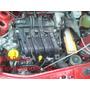 Motor 1.0 16v Flex 45.000 Km Originais Sandero Clio Logan 09