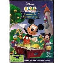Dvd - A Casa Do Mickey Mouse Contos E Surpresas