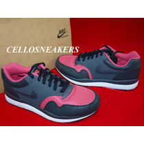 Tenis Nike Air 39 Safari Le Trainer Leather Preto Anos 80