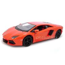 Lamborghini Aventador Lp700-4 1:24 Maisto 31210-laranja