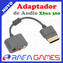Cabo Adaptador De Audio Optico Digital / Rca Para Xbox 360