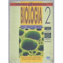 Livro Biologia Volume 2 Dos Organismos Amabis & Martho