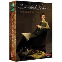Sherlock Holmes - Jogo De Tabuleiro Importado - Asmodee