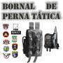 Bornal De Perna 2 Bolsos Frontais E 3 Internos + Porta Car