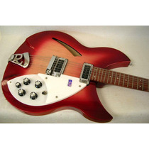 Rickenbacker 330/12 Impecável. Case + Tags Originais!
