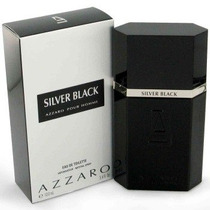 Perfume Silver Black Azzaro For Men 100ml Edt - Original