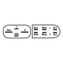 Relé De Controle Do Ventilador Do Radiador - A/c Golf/audi