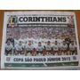 Corinthians Taça São Paulo 2012 Jornal Lance