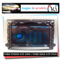 Central Multimidia Para Ford Fusion Até 2009 / Edge Até 2010