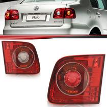 Lanterna Traseira Polo Sedan 07 08 09 10 11 12 Mala Bicolor