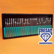 Fresas Diamantadas P/ Dremel E Outras Micro Retificas 30pcs