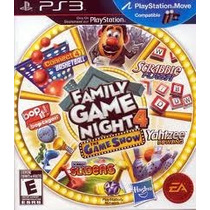 Jogo Ntsc Family Game Night 4 The Game Show Para Ps3 Move