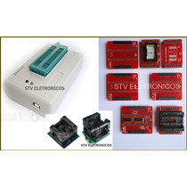 Kit Gravador Tl866cs Tl866 Cs Bios Spi Flash Eprom Ecu Tunin