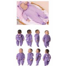 Boneca Ninos Branca Dormindo Ref: 1496 - Cotiplás