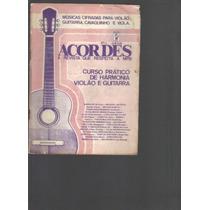 Revista Acordes Nº 17 - Violão, Guitarra, Viola, Cavaquinho