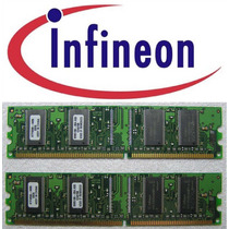 Infineon 2x128mb 16mx16 Cl2.5 Pc2700 Ddr 333mhz Memoria Desk