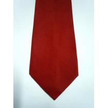 Gravatas Masculinas Cor Vermelha - Poliéster