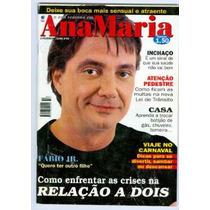 Revista Ana Maria 69 Fabio Junior Chiquititas 1998 Fret Grat