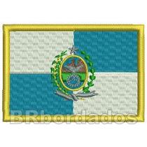 Bbr136 Patch Bordado Bandeira Rj Rio Janeiro Mochila Viagem