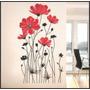 Adesivo Decorativo Para Ambiente E Parede - Rosas Gigantes