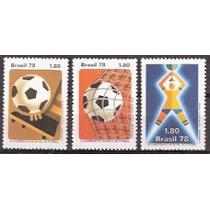 Série Xi Camp. Mundial De Futebol - 1978- C- 1030/1032-mint