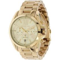 Relógio Michael Kors Mk5605 Ouro Dourado, Garantia.original,