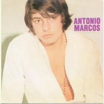 Cd Antonio Marcos 1969 - 1ª Edição 2002 Raro Lacrado