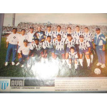 Poster Avai Campeão Catarinense 1997 21x27 Cm Santa Catarina