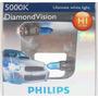 Lampadas Philips Diamond Vision H1 Efeito Xenon 5000k