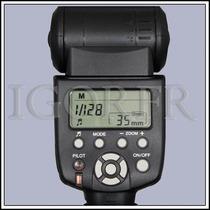 Novo Yn-560ii + Difusor Brinde Flash Yongnuo P/ Canon, Nikon