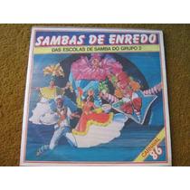Lp Sambas Enredo Escolas Samba Sao Paulo Grupo 2 Carnaval