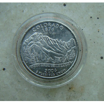 7588 Eua - Quarter Dolla 2006, Acrilico Fc, Colorado