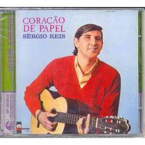 Cd Sérgio Reis - Coração De Papel - 1967 - Lacrado