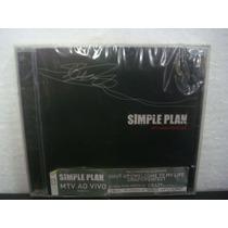 Simple Plan - Mtv Hard Rock Live - Cd Nacional
