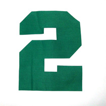 Número Camisa Retrô Termocolante 20cm Qualquer Número 0 A 9