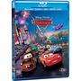 Combo Carros 2 Blu Ray Duplo Copia Digital E Dvd 4 Discos.
