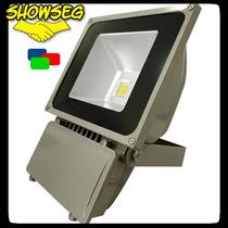 Refletor De Led - Verde 100w - Ip65