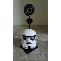 10 Lembrancinhas Em Biscuit Stormtrooper Star Wars