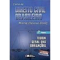 Livro C. Direito Civil Brasileiro Maria Helena Diniz 2 Volum