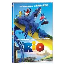 Rio (2011) Dvd Infantil Carlos Saldanha Era Do Gelo Arara