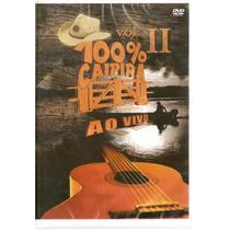 Dvd 100 % Caipira - Vol. 2 Ao Vivo - Novo***
