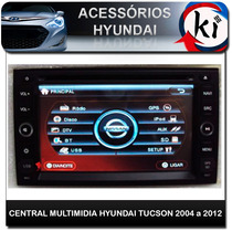 Central Multimidia Hyundai Tucson 2004 A 2011 - Tv Digital