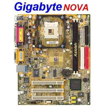 Kit Gigabyte Nova + Celeron 1.7 (vídeo/ Som/ Rede On-board)